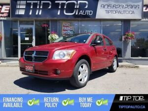 2007 Dodge Caliber SXT ** Accident Free, Low Km's, Well Equipped