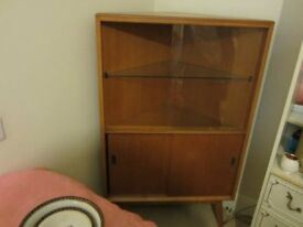 Ercol Glass Fronted Display Cabinet