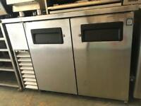 Commercial double door fridge catering equipments restaurant hotels pubs cafe bakery takeaway