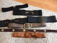 Collection of Belts - £3-£5 each or £15 for All