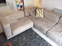 IKEA Tylosand L-shaped modular sofa
