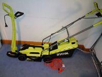 Lawnmower 1250W & Grass Trimmer 300W