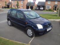 2003 Ford Fusion 1.4 petrol automatic , 12 months mot. 40.290 miles from new !
