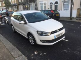 Volkswagen polo 2014 match edition 1.2 white
