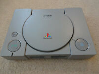 Sony Playstation One - PS1 Games Console - PS 1