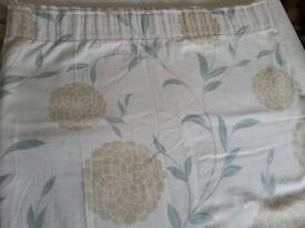 Laura Ashley curtains and matching cushion cases
