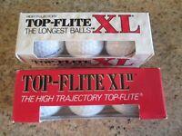 TOP FLITE XL GOLF BALLS