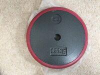 Men's health 15kg cast plate