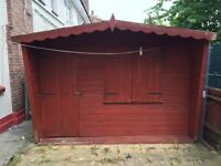 Good quality large garden shed