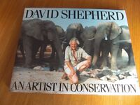 David Shepherd's 'An Artist in Conservation'. makes lovely gift, hardly opened and looks as new