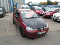 2006 06 VAUXHALL CORSA 1.2 SXI 68,000 MILES ONLY BARGAIN!!!!!!!