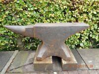 Large Heavy Blacksmiths Anvil