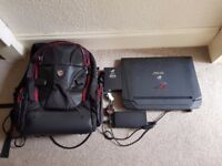 """ASUS ROG 17.3"""" Gaming Laptop - NVIDIA GTX 780M, Intel i7, 16GB RAM w/ backpack and ASUS mouse"""