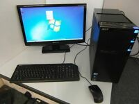 Acer M3910 Desktop with Packard Bell Visio 230 Monitor