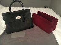 REDUCED Genuine Mulberry Bayswater in black soft grain leather