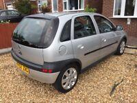 52 reg Vauxhall Corsa 1.2 SXi 92K miles