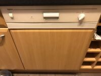 Beech integrated dishwasher