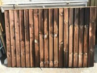 Fence Panels - Featheredge - Pressure Treated - Ideal for Painting