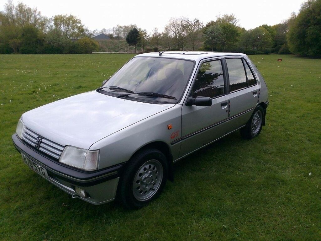 peugeot 205 1 4 gt classic car in billingham county durham gumtree. Black Bedroom Furniture Sets. Home Design Ideas