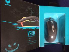 VPRO V280 Gaming Optical Mouse Black -Unused/Unwanted gift -