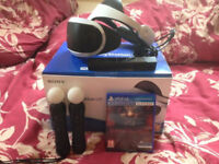 PLAYSTATION VR HEADSET - BOXED WITH GAME