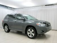 2010 Toyota Highlander SPORT 4WD 7 PASSENGER w/ LEATHER & MOONRO