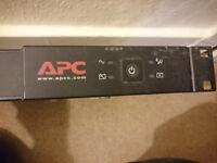 APC Rackmount 1u - If you get my drift