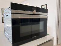 Siemens CM633GBS1B Microwave Oven Combination