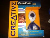Brand New Creative Webcam NX, unopened still in box. with USB cable