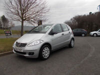 MERCEDES A-CLASS A160 CDI DIESEL STUNNING SILVER 2007 ONLY 70K MILES BARGAIN £2250 *LOOK*PX/DELIVERY