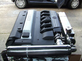 2 x 1998 BMW MARINE DIESEL ENGINE 2.5lt TURBO DIESEL ENGINE 2 X COMPLETE VOLVO 290SP STERNDRIVES