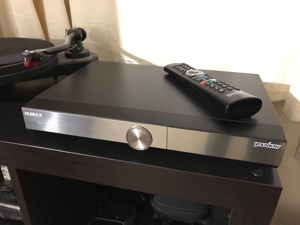 1 TB Humax T2000 - YouView - Freeview HD Recorder