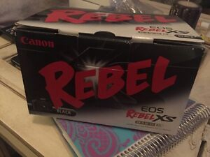 Canon Rebel EOS used in box with all papers and CD Belleville Belleville Area image 2