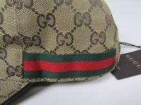 Gucci Cap Baseball Size Medium 100% Authentic