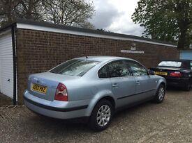 Volkswagen Passat BLUE in super condition, 1 Year MOT, 94K, FULLY SERVICED, NEW CAM BELT/BATTERY