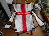 """Two """"England"""" foldable chairs"""