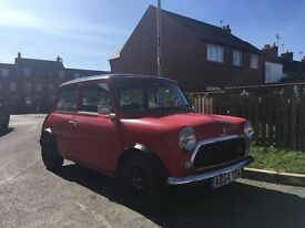 ****SOLD !!**** CLASSIC MINI MAYFAIR 998CC DAILY RUNNER WITH MOT