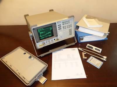 Agilent 8596em 9 Khz To 12.8 Ghz Emc Spectrum Analyzer W Tracking Generator