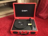 Ion portable record player