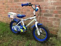 Children's Apollo police bike 14""