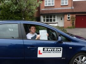 Swish Driving School - Patient instructor - Nervous pupils welcome