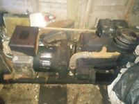 Lister SR2 generator 6KW spares or repairs