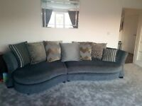 DFS 5 Seater Chaise Sofa