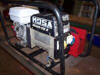 Mosa welder Solgen 170H welder generator