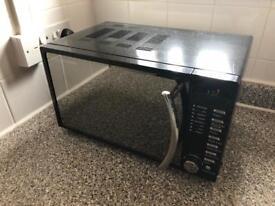 Russell Hobbs Black Microwave mirrored door