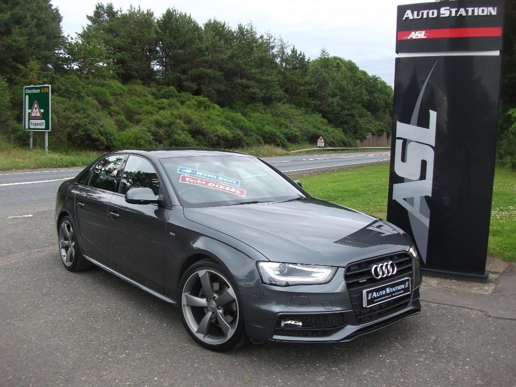 Audi A4 2 0 Tdi 177 Quattro Black Edition 4dr Grey 2013