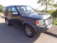 2006 LAND ROVER DISCOVERY 3 TDV6 AUTO 7 SEATER LONG MOT DIESEL 4X4 NEEDS SOME TLC