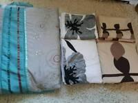 Double bedding sets x 2 plus bedspread