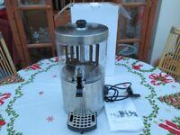New in box Inalinox Comercial Ciaochino Compact Hot Chocolate Drink Machine. 3 litre Tank.