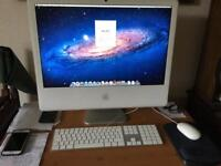 "IMac 24"" Late 2006 with updated full size keyboard & mouse"